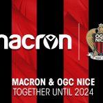L'OGC Nice prolonge son contrat d'équipementier avec Macron