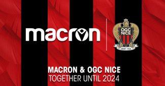 Image de l'article L'OGC Nice prolonge son contrat d'équipementier avec Macron