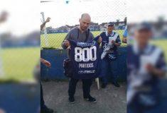 Image de l'article Un club de 4ème division argentine célèbre l'un de ses fidèles supporters