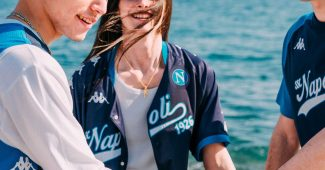 Image de l'article Kappa et le Napoli lancent une collection sportstyle «Summer Vibes»