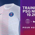 Le Paris Saint-Germain dévoile sa gamme training 2019-2020