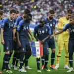 Les chaussures des 24 Bleus pour les matchs face à la Bolivie, la Turquie et Andorre