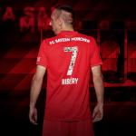 Le Bayern Munich sort un flocage spécial pour Ribery, Robben et Rafinha
