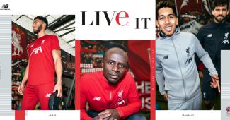 Image de l'article Liverpool et New Balance dévoilent une gamme training