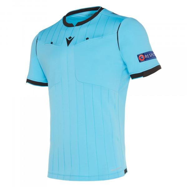 maillot-arbitre-uefa-macron-bleu