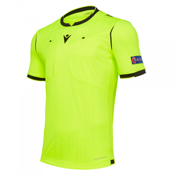maillot-arbitre-uefa-macron-jaune