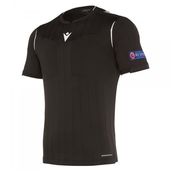 maillot-arbitre-uefa-macron-noir