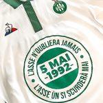 L' AS Saint-Etienne portera un maillot spécial en hommage à Furiani