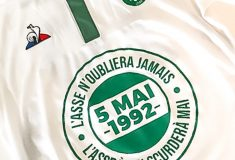 Image de l'article L' AS Saint-Etienne portera un maillot spécial en hommage à Furiani