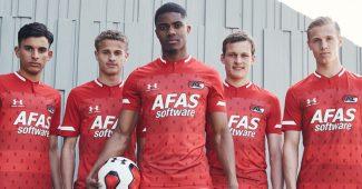Image de l'article Under Armour présente les maillots 2019-2020 de AZ Alkmaar