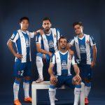 L'Espanyol Barcelone et Kelme lancent les maillots 2019/20