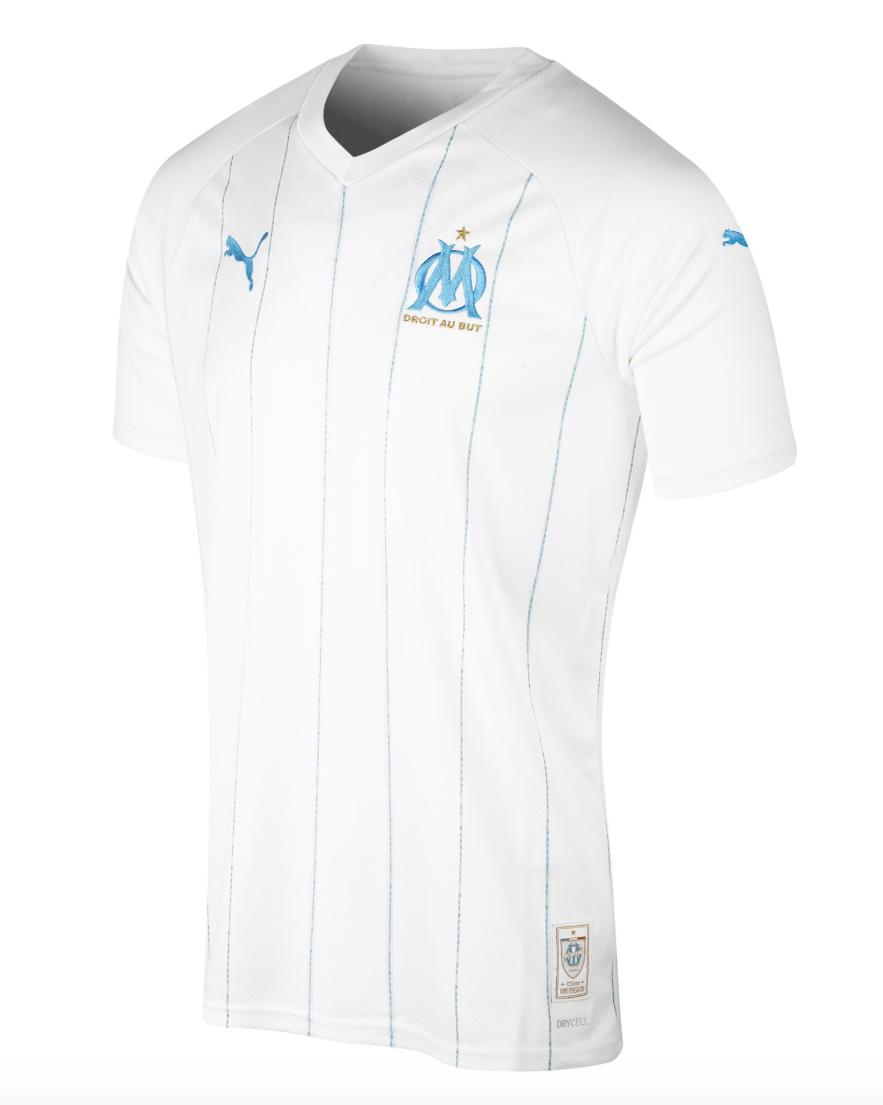 Puma présente les maillots 2019 2020 de l'Olympique de Marseille