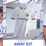 Chelsea et Nike dévoilent les maillots 2019-2020