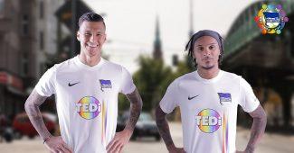 Image de l'article Le Hertha Berlin dévoile un maillot pour soutenir la diversité
