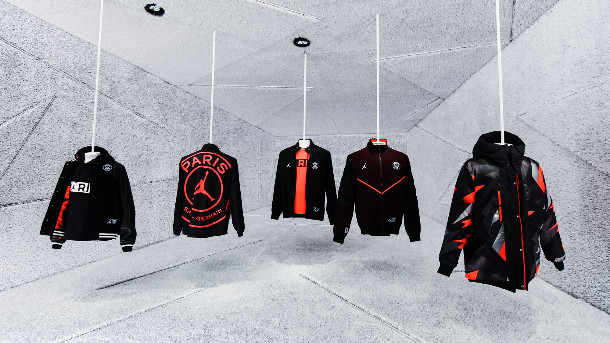 pivote moverse Disparo  Une nouvelle collection Jordan pour le Paris Saint-Germain