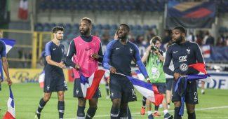 Image de l'article Les chaussures des 23 joueurs de l'équipe de France Espoirs pour l'Euro 2019