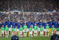 Image de l'article Les chaussures des 23 Bleus pour les matchs contre l'Albanie et Andorre