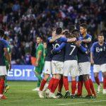 Les crampons des joueurs de l'équipe de France (Suède/Croatie)