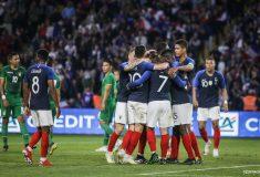 Image de l'article Les crampons des joueurs de l'équipe de France (Suède/Croatie)