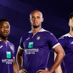 Anderlecht et Joma dévoilent les maillots 2019-2020