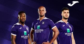 Image de l'article Anderlecht et Joma dévoilent les maillots 2019-2020