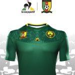 Le Coq Sportif présente les maillots du Cameroun