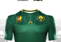 Image de l'article Le Coq Sportif présente les maillots du Cameroun