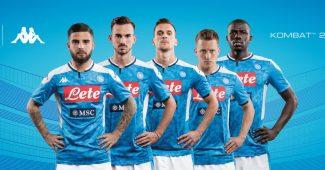 Image de l'article Kappa et le Napoli lancent les maillots 2019-2020