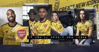 Image de l'article adidas dévoile les maillots 2019-2020 d'Arsenal