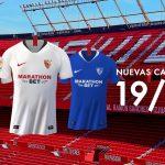 Le FC Séville et Nike présentent les maillots 2019-2020