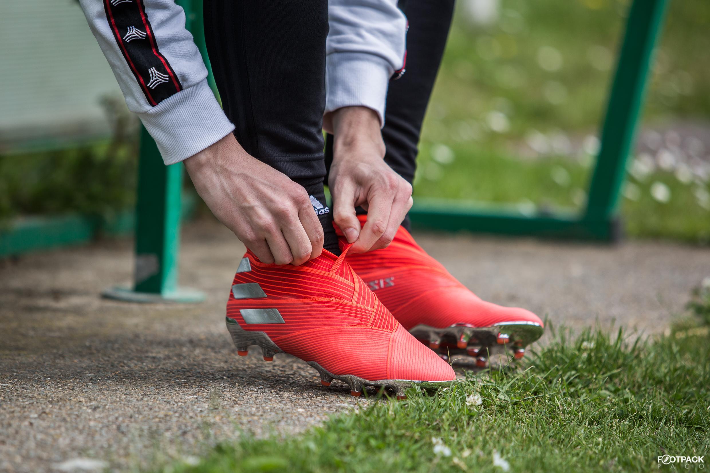 casser chaussure de foot