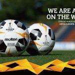 Molten dévoile le ballon de l'Europa League 2019-2020