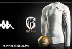 Image de l'article Angers SCO et Kappa dévoilent un maillot pour le centenaire du club