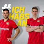 Jako et le Bayer Leverkusen lancent les maillots 2019-2020