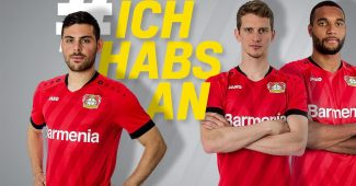 Image de l'article Jako et le Bayer Leverkusen lancent les maillots 2019-2020