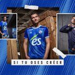 adidas et le RC Strasbourg présentent les maillots 2019-2020
