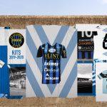 Le maillot aux 10 sponsors du FC Chambly