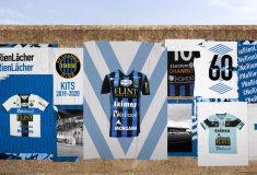 Image de l'article Le maillot aux 10 sponsors du FC Chambly