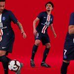 Nike lance les maillots du Paris Saint-Germain (PSG) 2019-2020