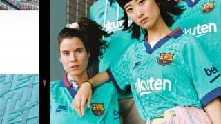 Image de l'article Nike dévoile le maillot third du Barça pour 2019-2020