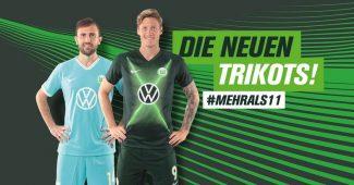 Image de l'article Le VfL Wolsbourg et Nike lancent les maillots 2019-2020