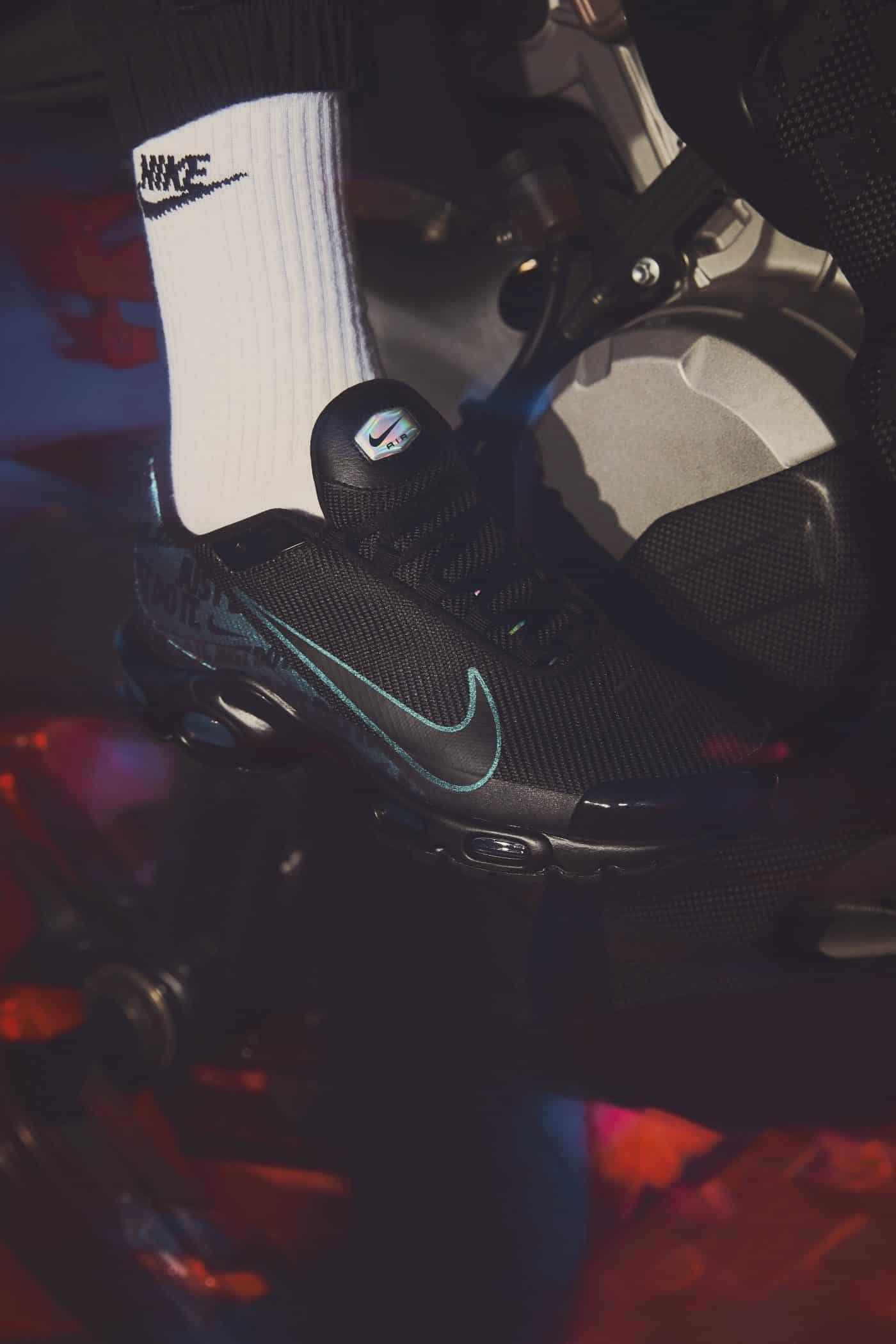 Une Nike Air Max Plus inspirée par la nouvelle Mercurial
