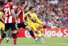 Image de l'article Antoine Griezmann ne pourra finalement pas porter le numéro 7 au Barça cette saison