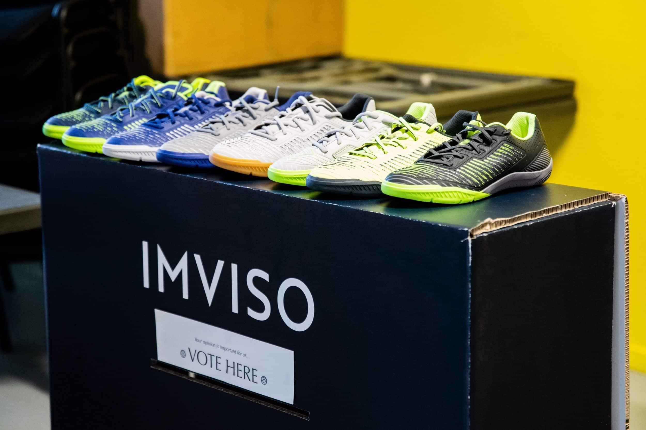 super qualité style actuel le dernier Decathlon lance la marque Imviso dédiée au futsal