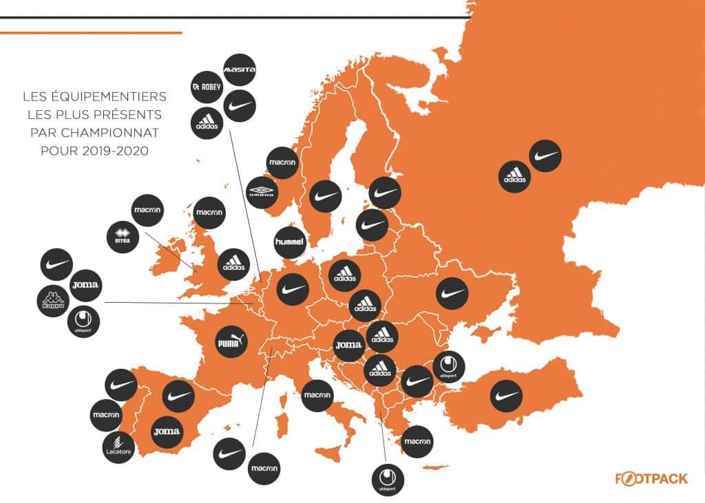 infographie-footpack-equipementier-europe-carte-equipementier-2019-2020
