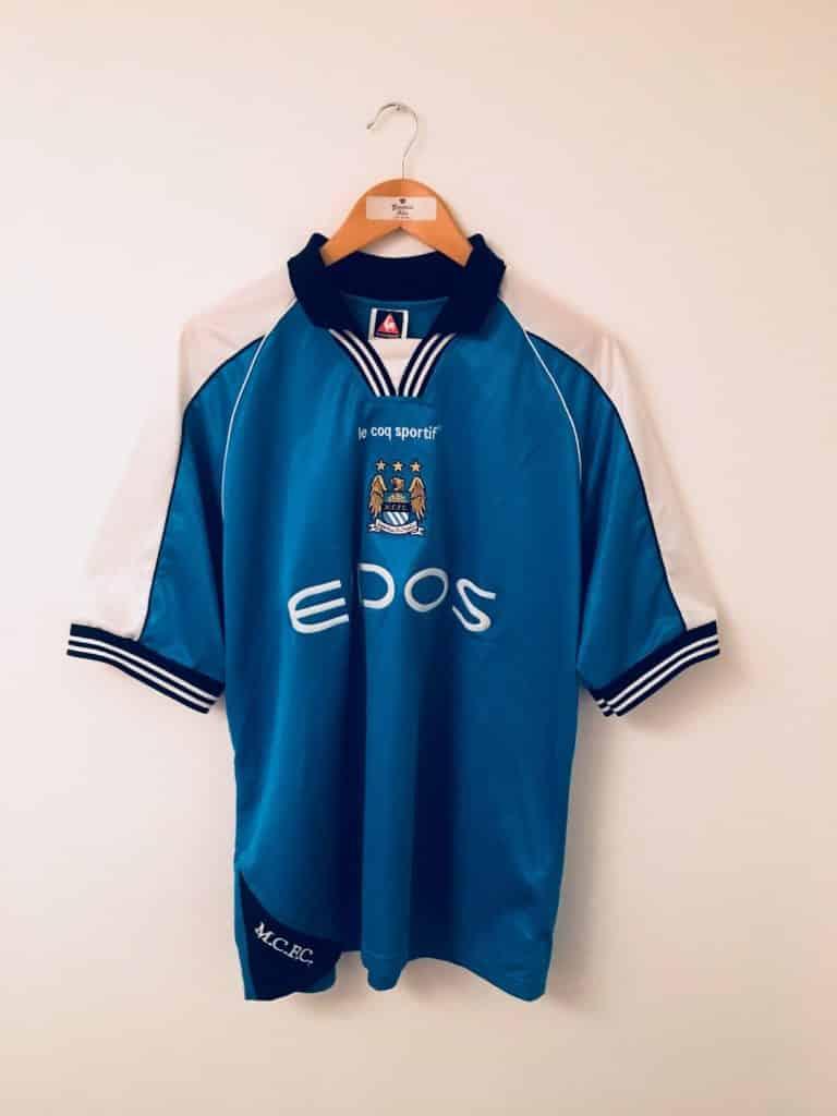 maillot-manchester-city-1999-2000-le-coq-sportif