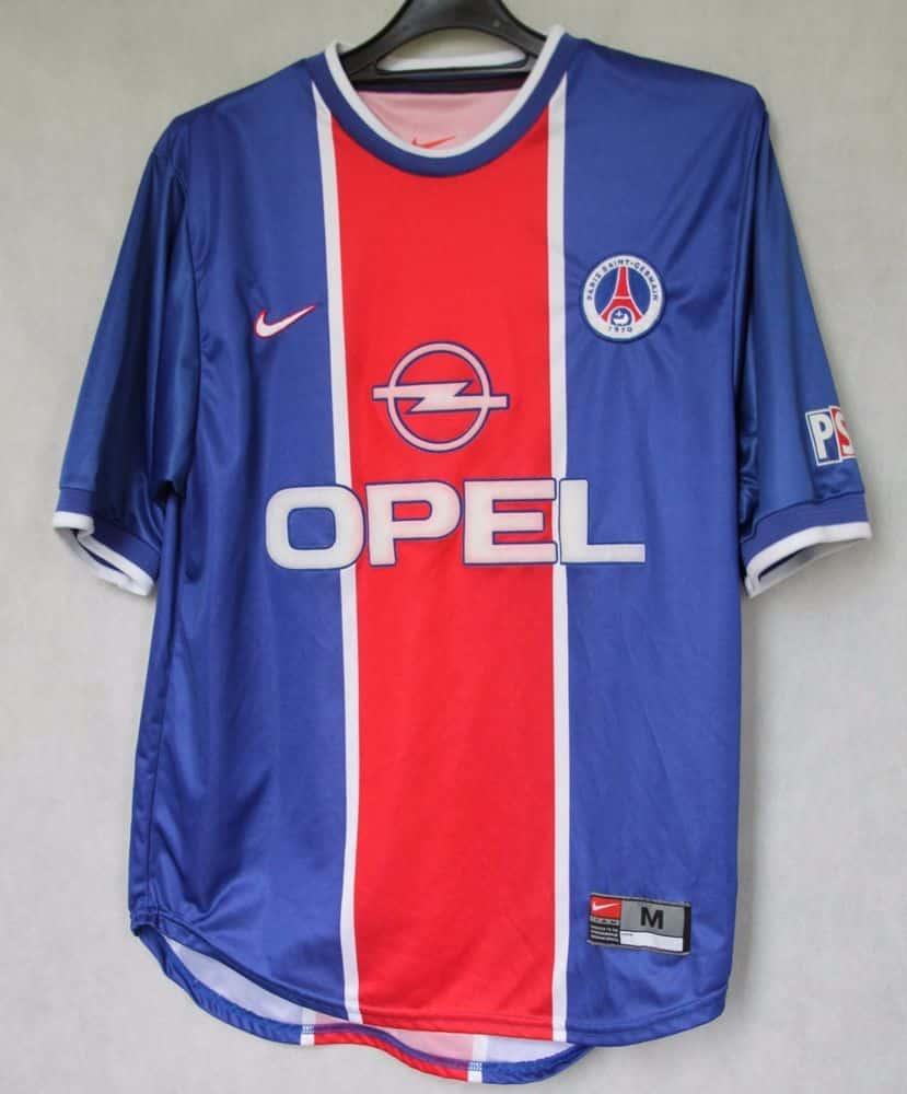 maillot-paris-saint-germain-1999-2000-nike
