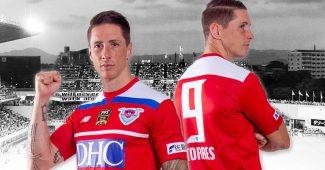 Image de l'article Deux maillots spéciaux pour le dernier match de la carrière de Fernando Torres