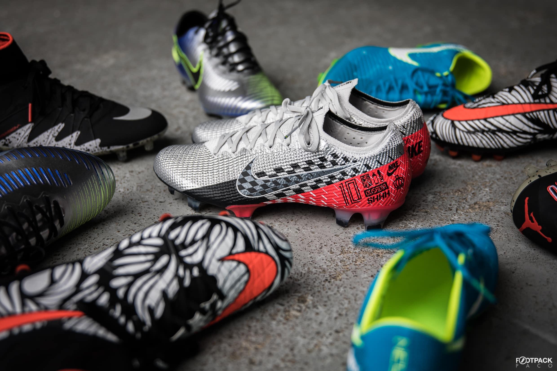 Toutes les chaussures de foot de la carrière de Neymar