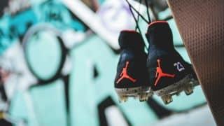 Image de l'article Sterling bientôt équipé avec des crampons Air Jordan ?